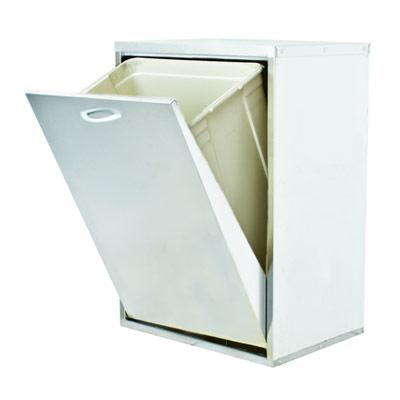 mobiletto-mobile-lamiera-raccolta-differenziata-1-cassetto-bianca