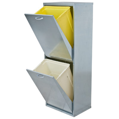 mobiletto-mobile-lamiera-raccolta-differenziata-esterni-aree-marine-pioggia-2-cassetti-inox-zincato